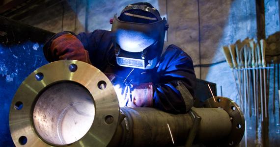 Custom fabrication expert working